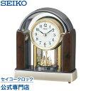 セイコークロック SEIKO 置き時計 セイコー置き時計 BY238B メロディ 電波時計 音量調節 スイープ おしゃれ【あす楽対応】【送料無料】