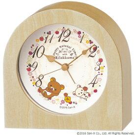 SEIKOギフト包装無料 セイコークロック SEIKO リラックマ 目覚まし時計 置き時計 CQ148B セイコー目覚まし時計 セイコー置き時計 おしゃれ あす楽対応【ギフト】