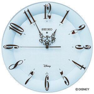 セイコークロックSEIKOディズニー掛け時計壁掛け電波時計FS801L大人ディズニーミッキーミニーミッキー&フレンズキャラクタースイープおしゃれかわいい【Disneyzone】【送料無料】【あす楽対応】