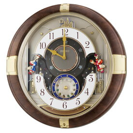 SEIKOギフト包装無料 セイコークロック SEIKO 掛け時計 壁掛け からくり時計 RE816B セイコー掛け時計 セイコーからくり時計 メロディ おしゃれ【あす楽対応】 送料無料【ギフト】