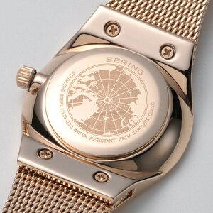 ベーリングBERINGレディース腕時計11923-366クラシックカービングメッシュスワロフスキーSSメッシュベルト【正規品】【送料無料】