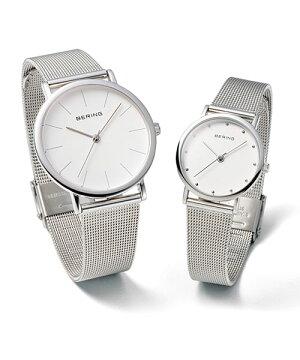 ベーリングBERINGレディース腕時計NorthPole13426-000クラシックカービングメッシュSSメッシュベルト【正規品】【送料無料】【あす楽対応】|おしゃれブランドギフトプレゼント誕生日プレゼントnuts