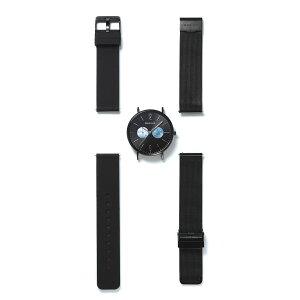 【国内正規品】【ギフト包装無料】ベーリングBERINGメンズ腕時計径36mm14236-122ベルト2本セットCHANGESPolarNightボーイズサイズ日本限定サファイアガラスラバー・ステンレスメッシュベルトあす楽対応送料無料