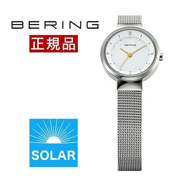 【国内正規品】【ギフト包装無料】ベーリング BERING レディース 腕時計 14424-001 スカンジナビアンソーラーミニ SSメッシュベルト【送料無料】【あす楽対応】|腕時計 腕時計【ギフト】