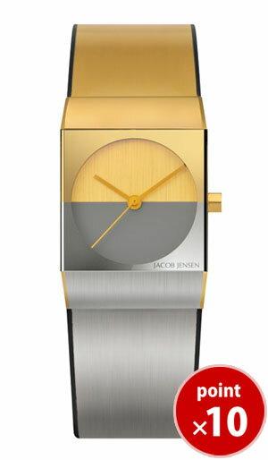 【国内正規品】【ギフト包装無料】ヤコブ・イェンセンJACOB JENSEN Classic レディース 腕時計 523 メタルベルト 【送料無料】【ギフト】