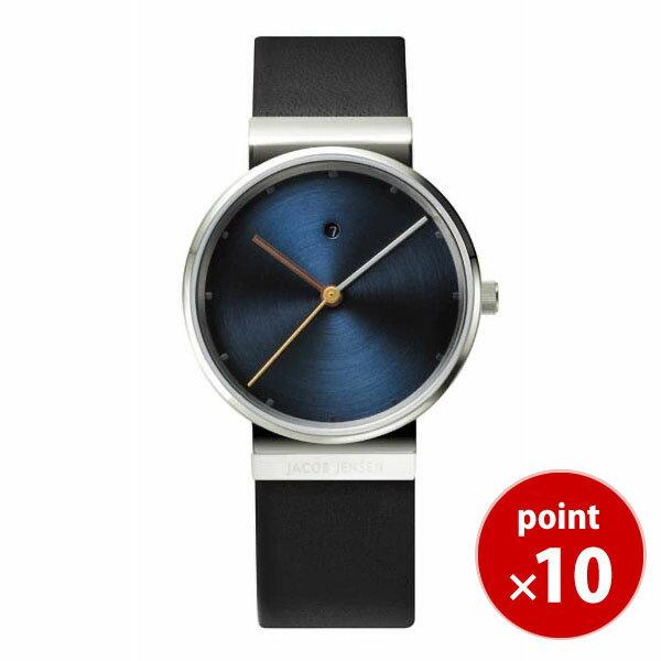 【国内正規品】【ギフト包装無料】ヤコブ・イェンセンJACOB JENSEN Dimensions レディース 腕時計 851 レザーベルト 【送料無料】【ギフト】