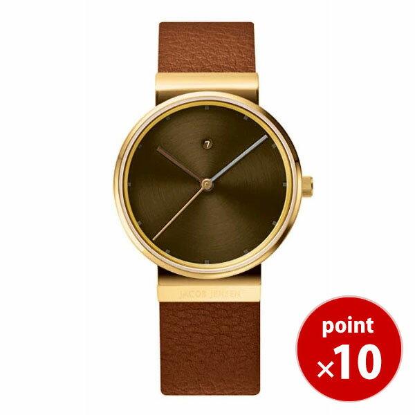 【国内正規品】【ギフト包装無料】ヤコブ・イェンセンJACOB JENSEN Dimensions レディース 腕時計 JJ854 レザーベルト【送料無料】|腕時計 腕時計【ギフト】