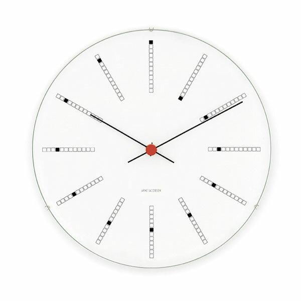【エントリーでポイント14倍】【アルネヤコブセン】【Bankers Clock】 バンカーズ クロック 29センチ 43640 【正規品】 【送料無料】 【あす楽対応】