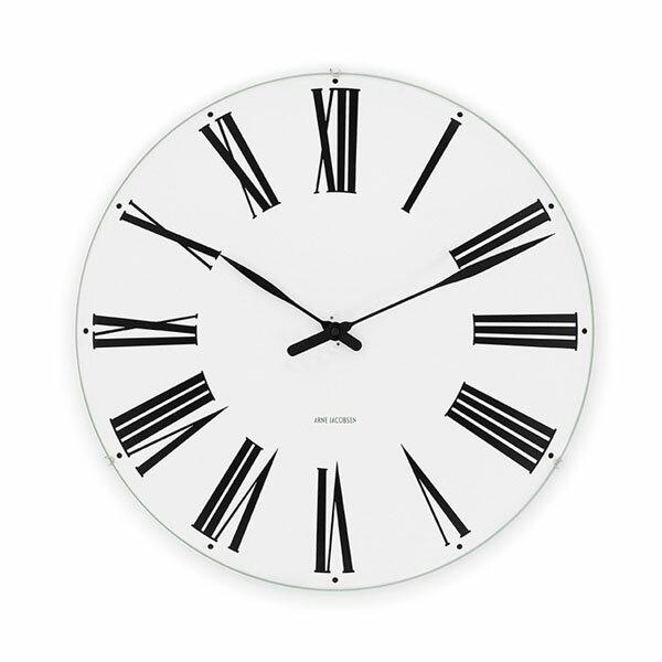 【エントリーでポイント14倍】【アルネヤコブセン】【Roman Clock】 ローマン クロック 29センチ 43642 【正規品】 【送料無料】 【あす楽対応】