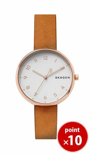 【国内正規品】【ギフト包装無料】【2017夏新着】 スカーゲン SKAGEN レディース SIGNATUR 腕時計 SKW2624 Ladies Leather ライトブラウンレザーベルト 腕時計 腕時計 腕時計 ギフト【あす楽対応】【送料無料】