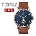 トリワ TRIWA メンズ・レディース兼用 腕時計 FALKEN LOCH FAST104-CL010217 ゴールドケース レザーベルト 正規品 送…