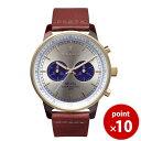 トリワ TRIWA メンズ・レディース兼用 腕時計 クロノグラフ NEVIL Blue Face NEAC109 シルバー×ブルー×ブラウン レ…