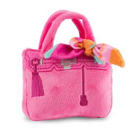 オートディギティドッグ Haute Diggity Dog 犬 おもちゃ 【Pink Barkin Bag ピンクバーキンバッグ】 HDD084-MINI 音が鳴る 犬用ぬいぐるみ 布製 小型犬 中型犬ソフト おしゃれ 【正規輸入品】【あす楽対応】