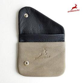 アッカーマン 鹿革 コインケース ドイツ製 A42-H91 財布 カードも入るコインケース 小銭入れ Ackermann Wildwuchs シャモア革| 正規品 小さい財布 薄い財布 pago 送料無料 あす楽対応 父の日