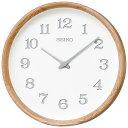 【SEIKO・NUTSコラボレーション】 天然木の掛け時計 nu・ku・mo・ri セイコークロック 掛け時計 壁掛け時計 電波時計 …