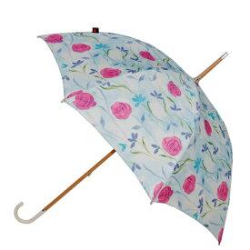 クニルプス 2年間保証 【NUTS別注 世界限定12本】 Knirps レディース 婦人用 長傘 ハンドメイド ウィーンの薔薇 【あす楽対応】【正規品】【送料無料】