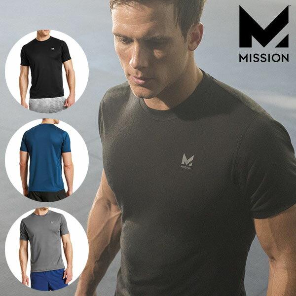 【メール便対応商品 1点まで】 ミッション ベイパーアクティブ アルファ クルー 超速乾 Tシャツ MISSION VAPOR ACTIVE Alpha Crew あす楽対応 正規品