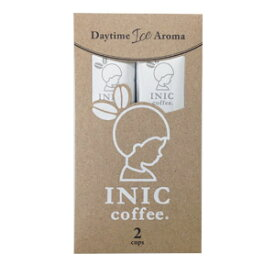 【メール便対応商品 10点まで】【アイス専用 インスタントコーヒー】 INIC coffee イニックコーヒー 【デイタイムアイスアロマ 2杯分】 高級インスタントコーヒー ドリップコーヒーパウダー スティック【正規品】【あす楽対応】
