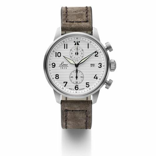 【国内正規品】【ギフト包装無料】ラコ LACO パイロットウォッチ Bern ベルン 861974 メンズ ドイツ製 腕時計 クロノグラフ 径42mm トープカラーレザーベルト 【送料無料】
