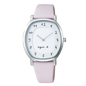 【国内正規品】 アニエスベー マルチェロ agnes b. marcello 時計 腕時計 39×31mm シルバー FCSK929 レディース アニエス・ベー アニエスb. 【送料無料】
