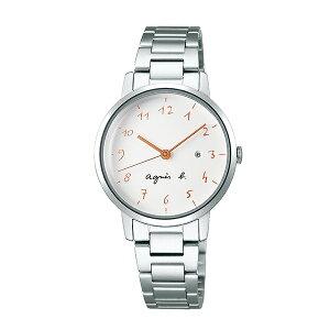 【国内正規品】 アニエスベー マルチェロ カレンダー agnes b. marcello 時計 腕時計 30mm シルバー×ホワイト FCSK935 レディース アニエス・ベー アニエスb. 【送料無料】