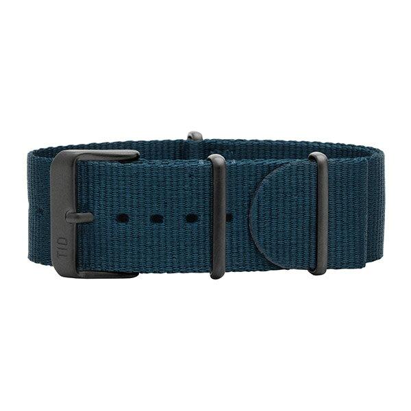 TID watches ティッド TID腕時計用ベルト Nato Wristbands NATOベルト ナイロンベルト 22mm ブルー TID-BELT-NBL-BK 腕時計 ウォッチ 替えベルト ナイロンストラップ 正規品 あす楽対応