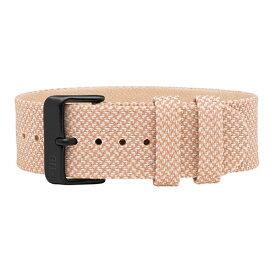 TID watches ティッド TID腕時計用ベルト Twain Wristbands Kvadrat製ファブリック×TRANSJO製ベジタブルタンニングレザー 21mm Salmon サーモン TID-TW-SALMON 腕時計 ウォッチ 替えベルト 正規品 あす楽対応