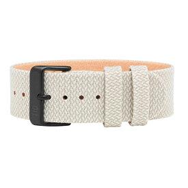 TID watches ティッド TID腕時計用ベルト Twain Wristbands Kvadrat製ファブリック×TRANSJO製ベジタブルタンニングレザー 21mm Sand サンド ベージュ系 TID-TW-SAND 腕時計 ウォッチ 替えベルト 正規品 あす楽対応