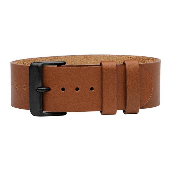 TID watches ティッド TID腕時計用ベルト TID-BELT-T TRANSJO社製オーガニックレザー カーフ 牛革 22mm タン ライトブラウン 腕時計 ウォッチ 替えベルト NATOベルト 正規品 あす楽対応