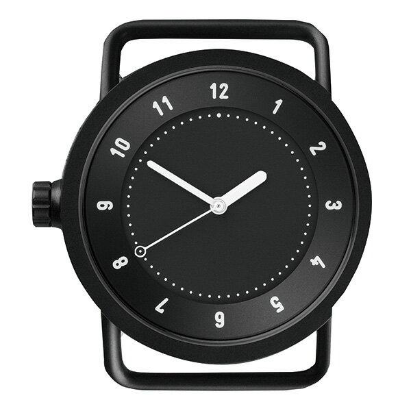 【国内正規品】【ギフト包装無料】TID watches ティッド No.1 40mm TID01-BK ブラックケース×ブラック文字盤 【ベルト別売り】 ビジネス カジュアル 男性用 メンズ 男女兼用 腕時計 ウォッチ 正規品 送料無料 あす楽対応