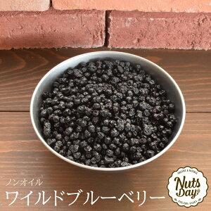 『送料無料』ワイルドブルーベリー 野生種 ノンオイル 1kg 砂糖不使用 アメリカ産 ドライフルーツ 【アメリカ産ワイルドブルーベリー1kg】