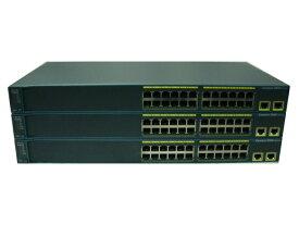 【中古】Cisco Catalyst 2960-24TT-L(WS-C2960-24TT-L) お買い得3台セット