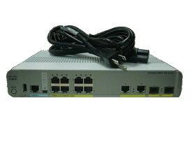 【中古】Cisco Catalyst C3560CX-8PC-S (WS-C3560CX-8PC-S)