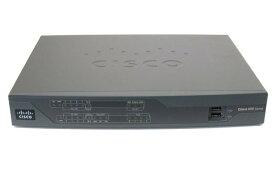 【中古】Cisco892J/K9 (D512M/F256M) サービス統合型ルーター