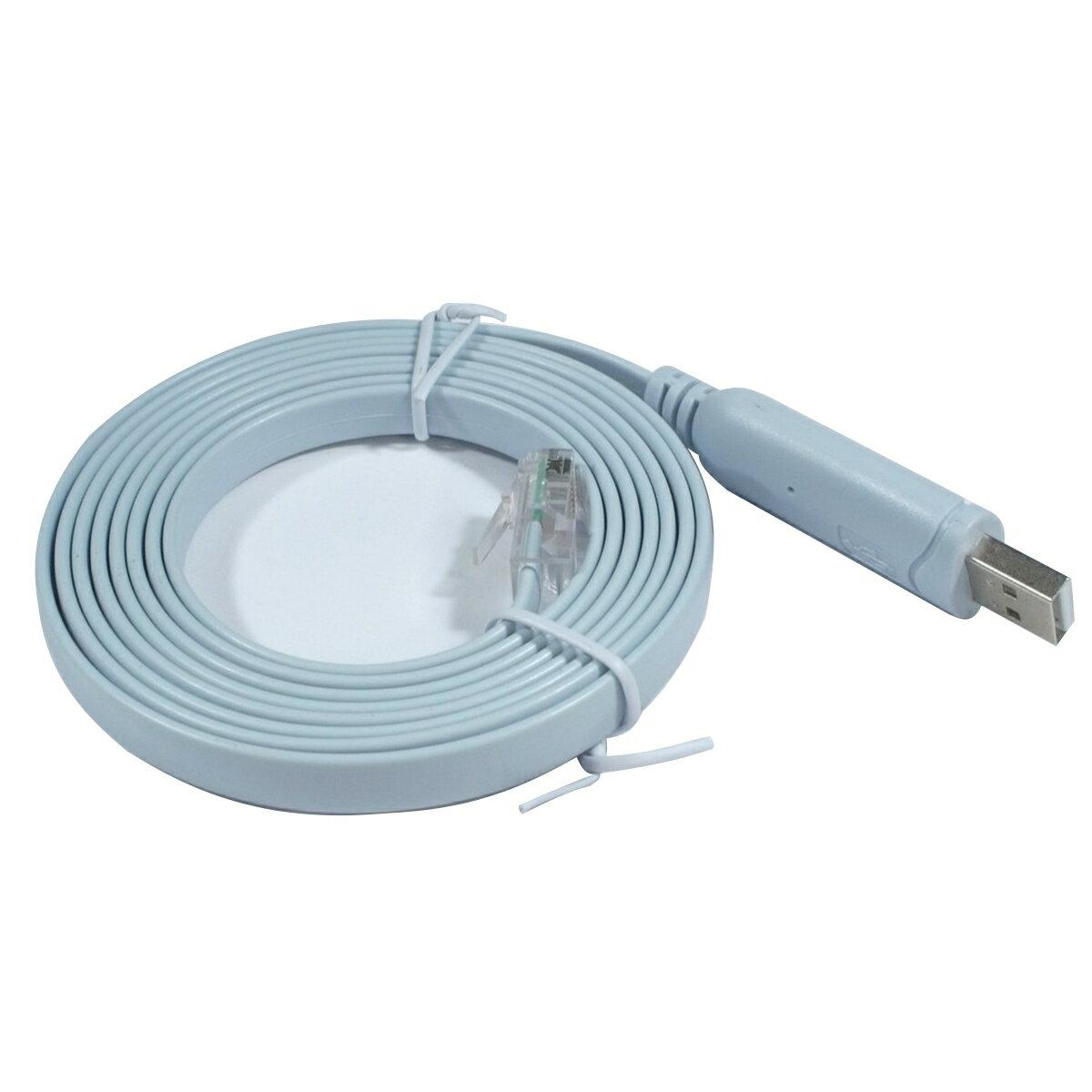 vitalcrew Cisco互換 コンソールケーブル USB-RJ45 FTDIチップ搭載【CAB-USBRJ45-LB】