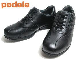 【あす楽】 アシックス ペダラ asics PEDALA WS090C ファスナー付き ウォーキングシューズ ワイズ:3E カラー:BLACK レディース 靴