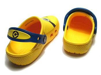 【あす楽】CROCSクロックスファンラブミニオンズクロッグキッズイエローサンダル靴