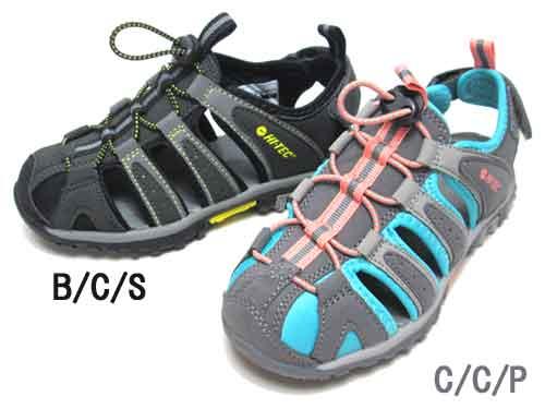【あす楽】ハイテック HI-TEC COVE JR アウトドア モックサンダル【キッズ・靴】