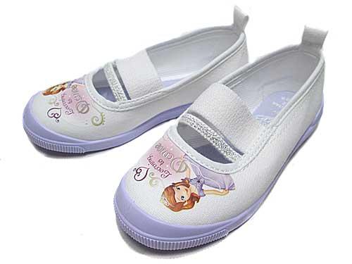 【あす楽】ディズニー 子供靴 ソフィアバレー01 パープル ディズニー「ちいさなプリンセスソフィア」の上履き キッズ 靴