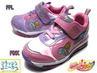 【あす楽】HUGっと!プリキュアフラッシュスニーカー光る靴スニーカーキッズ靴