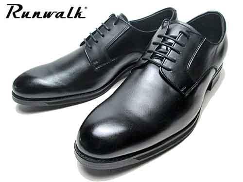 【あす楽】アシックス asics ランウォーク Runwalk プレーントゥ レースアップシューズ ビジネスシューズ ブラック メンズ 靴