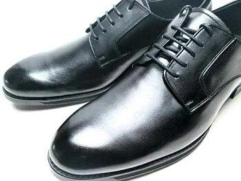【あす楽】アシックスasicsランウォークRunwalkプレーントゥレースアップシューズビジネスシューズブラックメンズ靴