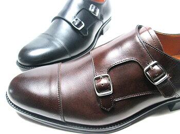 【あす楽】アシックスasicsランウォークRunwalkダブルモックストラップビジネスシューズメンズ靴