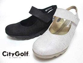 【あす楽】シティゴルフ City Golfバックバンドカジュアルシューズ【レディース・靴】