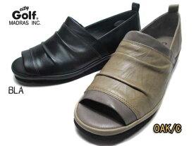 【あす楽】シティゴルフ City Golf オープントゥカジュアルパンプス レディース 靴