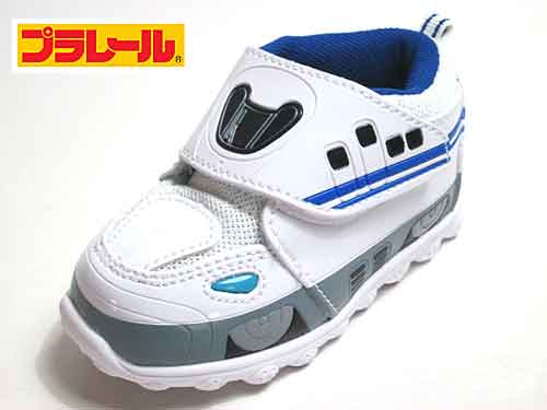 【あす楽】トミカ プラレール TOMICA PLARAIL N700系 新幹線 マジックタイプ スニーカー ホワイト【キッズ・靴】
