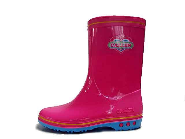 【あす楽】アキレス カレンジュニア CALLEN JUNIOR レインブーツ 長靴 雨靴 ピンク【キッズ・靴】