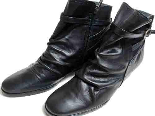 【あす楽】ミッシーマドラス missy madras ショートブーツ ローウエッジベルトデザイン ブラック【レディース・靴】