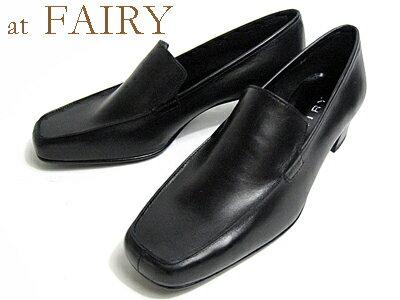 【あす楽】フェアリー FAIRYプレーンパンプスブラック【レディース・靴】