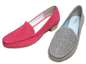 【あす楽】モデロ MODELLLO DML5051 万能ヴァンプパンチングモカパンプス レディース 靴